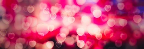 Walentynka dnia serc Abstrakcjonistyczny tło royalty ilustracja