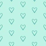Walentynka dnia serca wzór royalty ilustracja