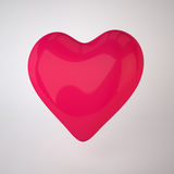 Walentynka dnia serce Obraz Royalty Free
