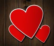 Walentynka dnia serce. ilustracja wektor