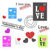 Walentynka dnia set ilustracji