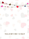 Walentynka dnia tło. Obrazy Stock