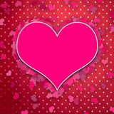 Walentynka dnia tło ilustracji