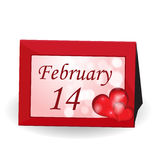 Walentynka dnia tło. Fotografia Stock