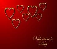 Walentynka dnia tło Fotografia Royalty Free