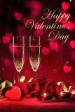 Walentynka dnia tło Zdjęcia Royalty Free