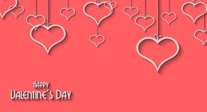 Walentynka dnia tło dla obiadowych zaproszeń Zdjęcia Royalty Free