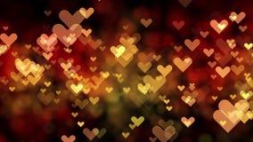 Walentynka dnia tło Zapętlający zdjęcie wideo