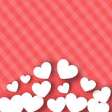 Walentynka dnia tło. Obrazy Royalty Free