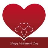 Walentynka dnia tło Obraz Royalty Free