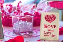 Walentynka dnia tło Zdjęcie Royalty Free