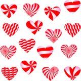 Walentynka dnia tło z sercami Zdjęcie Stock