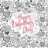 Walentynka dnia wektor Obrazy Stock