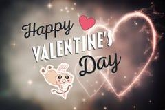 Walentynka dnia wektor Fotografia Royalty Free