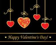 Walentynka dnia wektoru karta royalty ilustracja