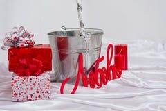 Walentynka dnia świeczki Zdjęcia Royalty Free