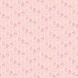 Walentynka dnia wzór Fotografia Stock