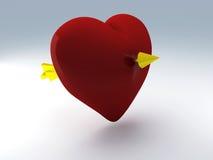 Walentynka dzień 3d odpłaca się ilustracji