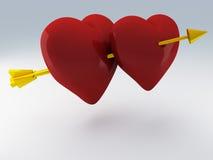 Walentynka dzień 3d odpłaca się ilustracja wektor