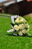 Walentynka dzień lub ślubny bukiet Tło z kwiatem Obraz Royalty Free