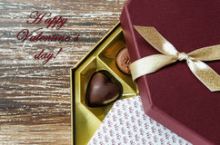 Walentynka dzień lub miłości pojęcie Obrazy Royalty Free