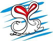 Walentynka dzień z zwierzętami Fotografia Stock