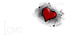 Walentynka kocham ciebie Zdjęcie Stock
