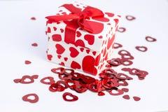 Walentynka prezent Zdjęcia Stock
