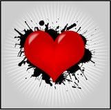 walentynka serca tapeta ilustracja wektor