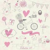 Walentynka set Fotografia Stock