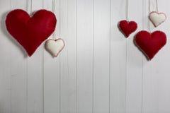 Walentynki ay tło Fotografia Stock