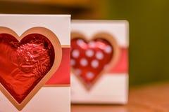 Walentynki czekolady serce Fotografia Royalty Free