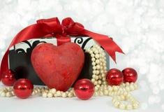 Walentynki czerwieni serce. Obraz Royalty Free