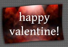 Walentynki czerwona kartka royalty ilustracja