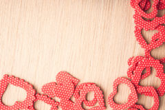 Walentynki dekoracja Obraz Royalty Free