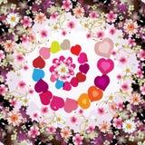 Walentynki dzień karta ilustracji