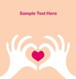 Walentynki dzień kartka z pozdrowieniami Obraz Stock