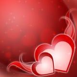 Walentynki dzień tło Zdjęcia Stock