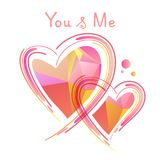 Walentynki heart-09 royalty ilustracja