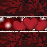 Walentynki karta ilustracja wektor