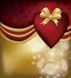 Walentynki karta Zdjęcia Stock