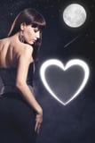 Walentynki karta Fotografia Stock