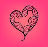 Walentynki karta Obraz Royalty Free