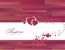 Walentynki karta Ilustracji