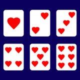 Walentynki karta miłość zdjęcia royalty free