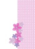 Walentynki kartka z pozdrowieniami Fotografia Stock