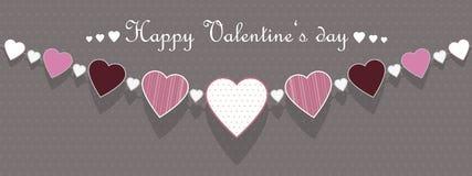 Walentynki kolia Zdjęcie Stock