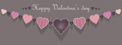 Walentynki kolia Obraz Royalty Free