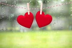 Walentynki miłości serce Obrazy Stock