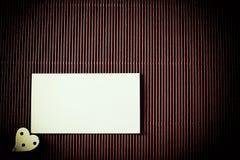 Walentynki papierowy tło Fotografia Stock
